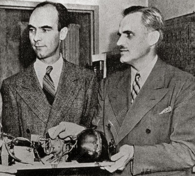 Carl David Anderson and Arthur Holly Compton