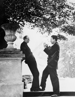 Paul Dirac and Richard Feynman