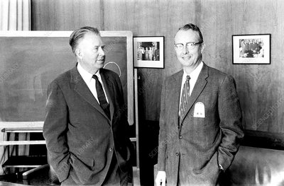 Ernest O. Lawrence and Luis W. Alvarez