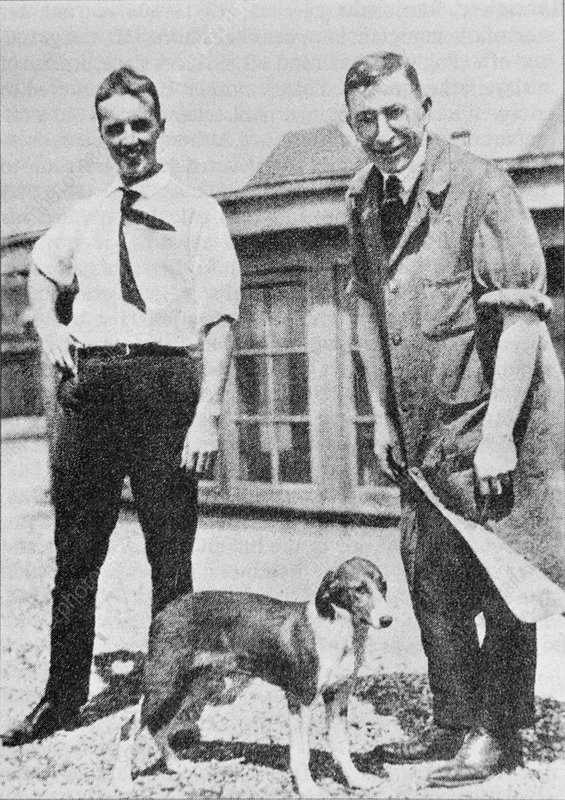 Charles Best and Sir Frederick Banting