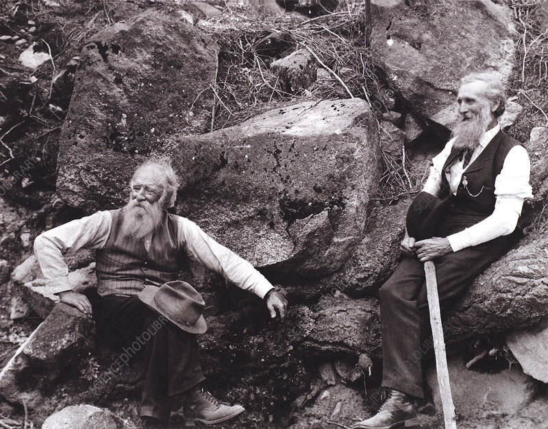 Burroughs and Muir