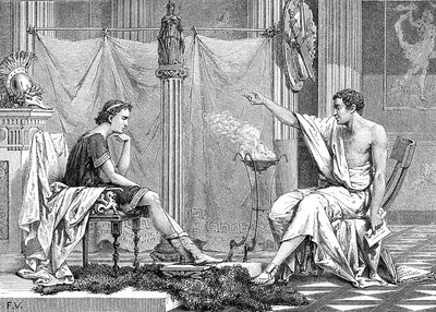 Alexander of Macedon and Aristotle
