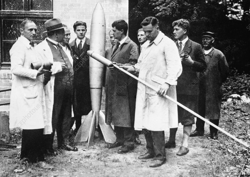 German spaceflight society (VfR), 1930