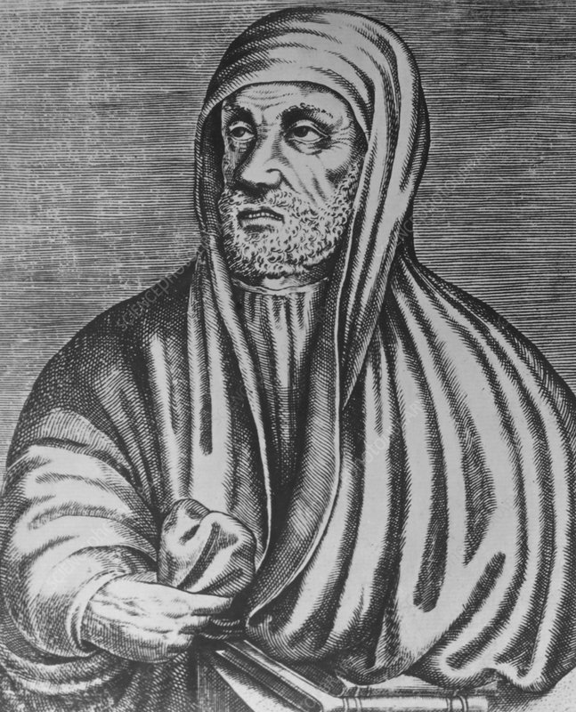 Portrait of Avicenna, Persian physician