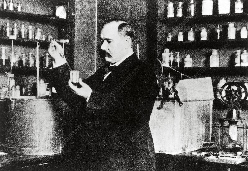 Swedish chemist Svante Arrhenius (1859-1927)