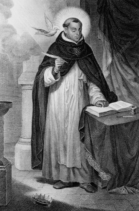 Saint Thomas Aquinas, Italian philosopher