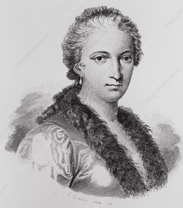 Portrait of Maria Agnesi, Italian mathematician