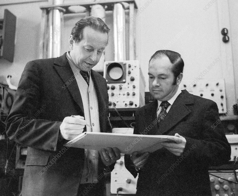 Brandt and Abrikosov, Russian physicists