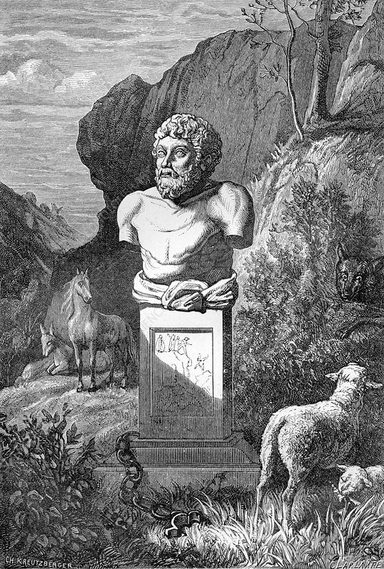 Aesop, Ancient Greek fabulist