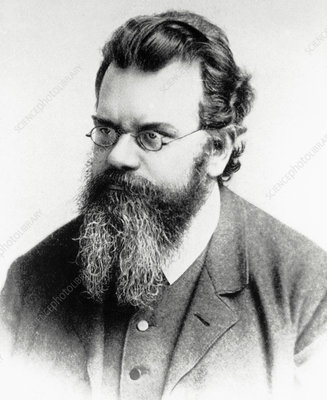 Portrait of Ludwig Boltzmann, 1844-1906
