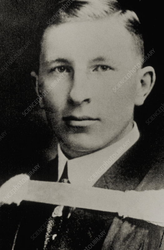 Portrait of Sir Frederick Banting