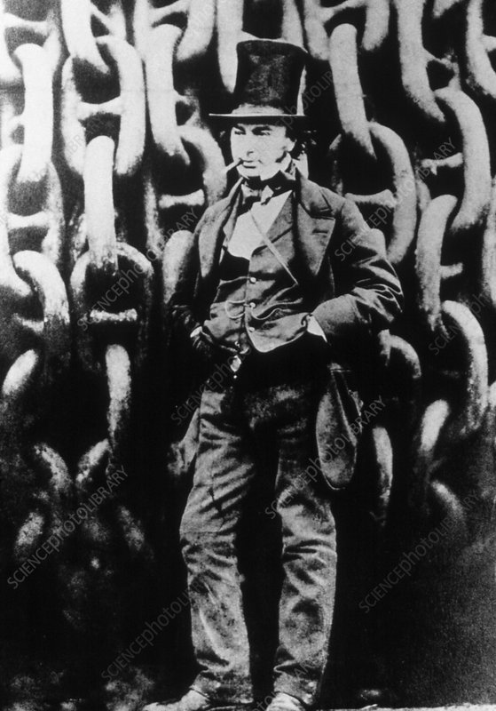 Portrait of Isambard Kingdom Brunel