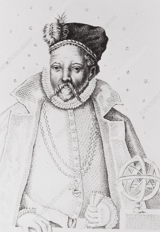 Portrait of the Danish astronomer Tycho Brahe