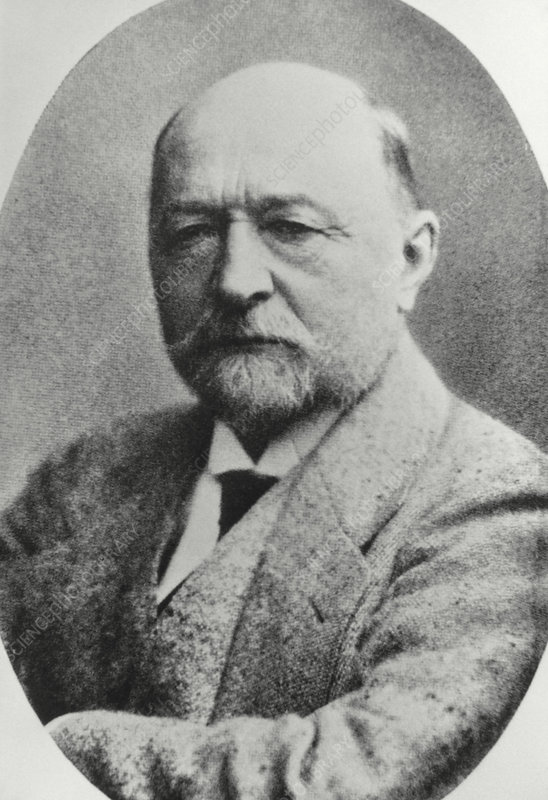 Portrait of the German bacteriologist E. Behring
