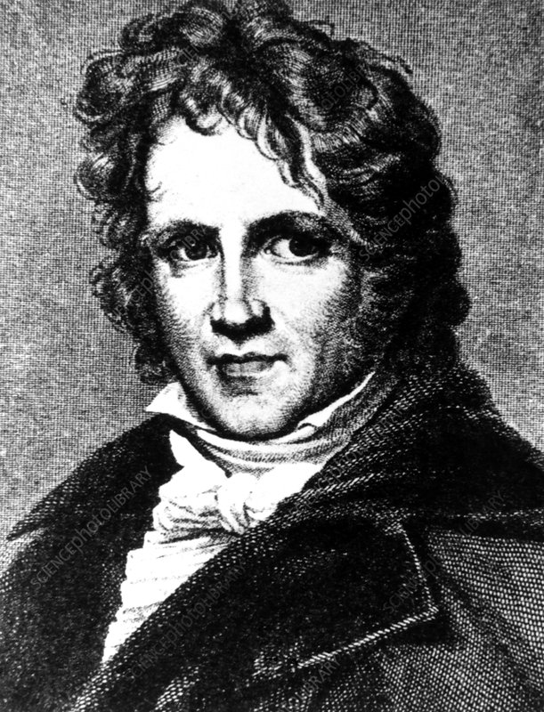 Portrait of Friedrich Bessel, German astronomer