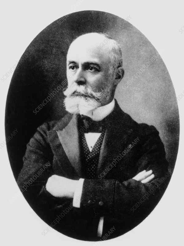 Portrait of French physicist A. H. Becquerel