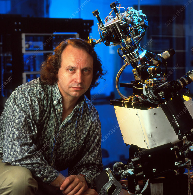 Rodney Brooks & Cog the android robot