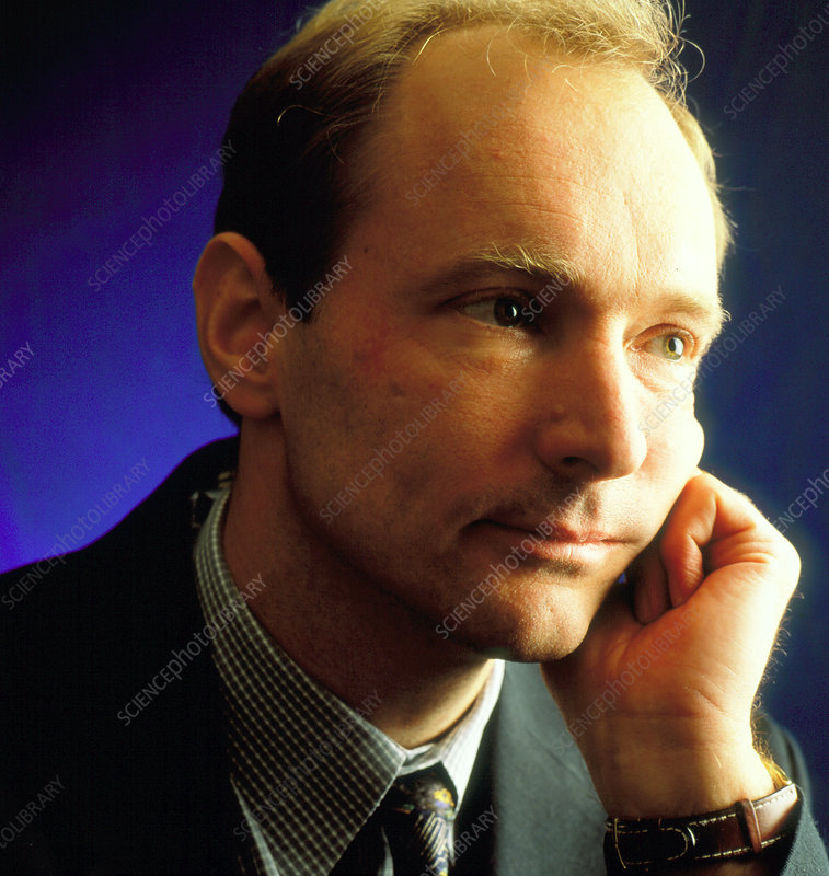 Tim Berners-Lee inventor of the WWW