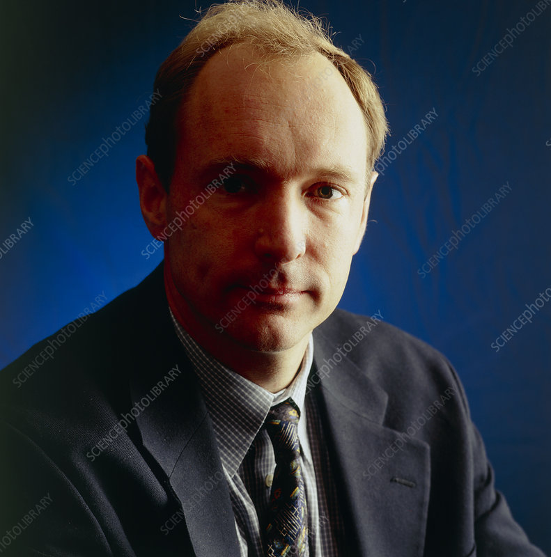 Portrait of Tim Berners-Lee, inventor of the WWW