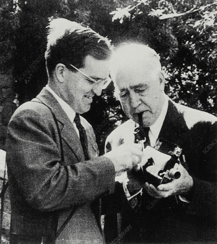 Niels and Aage Bohr, Danish physicists