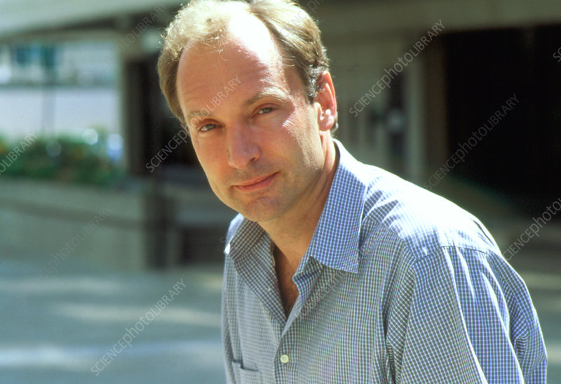 Tim Berners-Lee, inventor of the WWW