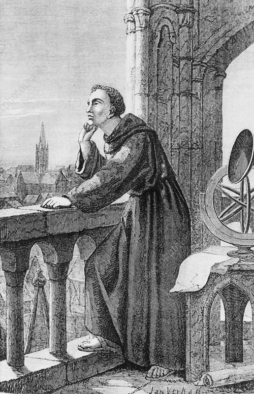 Roger Bacon, English philosopher and alchemist