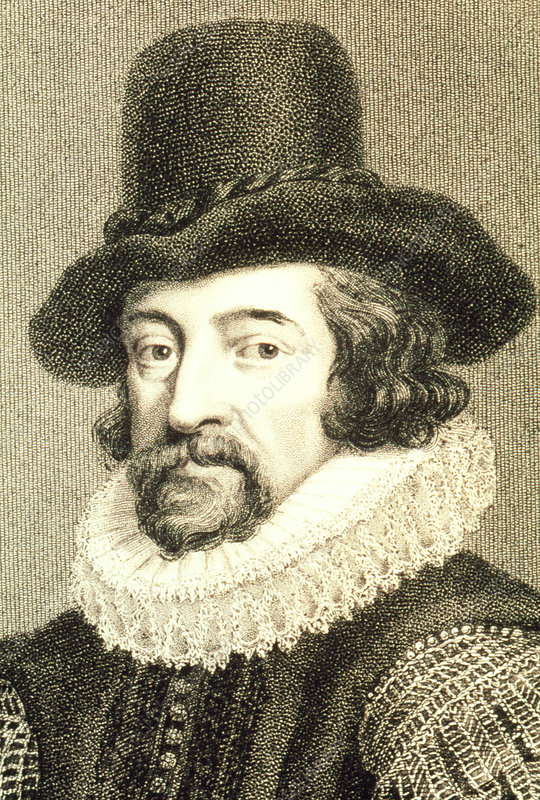 Portrait of the English philosopher Francis Bacon