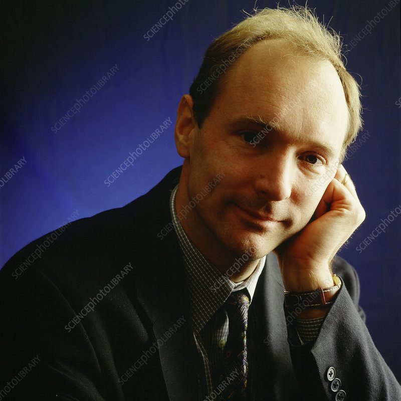 Tim Berners-Lee, British inventor of WWW