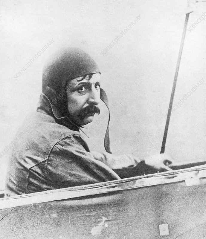Louis Bleriot, French aviator