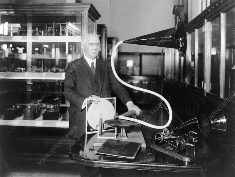 Emile Berliner, German-US inventor