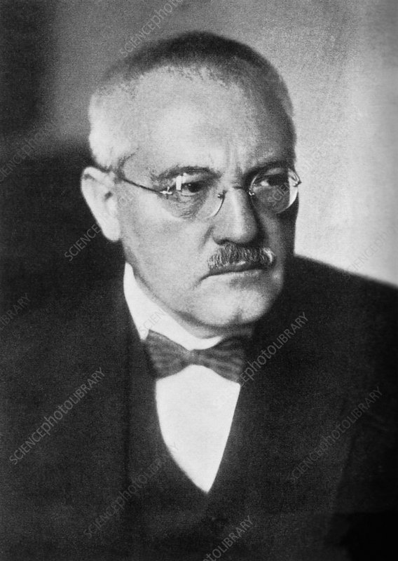 Carl Bosch (1874-1940), German chemist