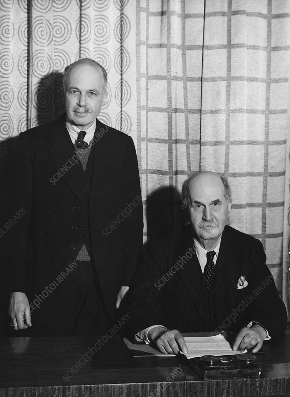 William and Lawrence Bragg