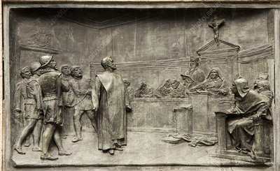 Giordano Bruno on trial