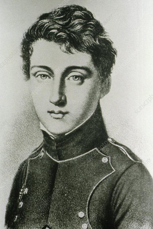 Portrait of Nicolas Leonard Sadi Carnot, 1796-1832 - Stock Image -  H403/0073 - Science Photo Library