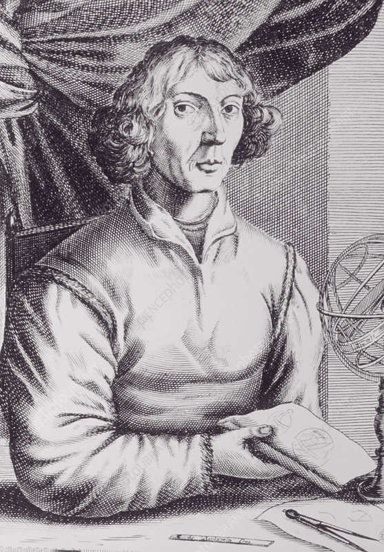 Portrait of the Polish astronomer N. Copernicus