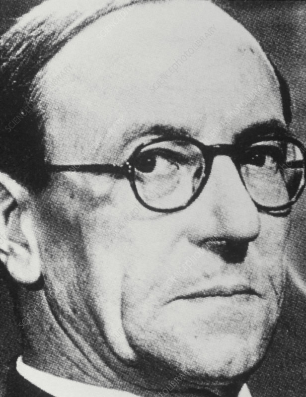 The English physicist, Sir James Chadwick