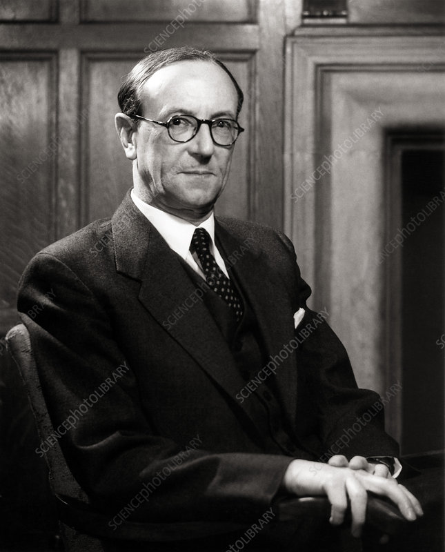 Portrait of Sir James Chadwick, physicist