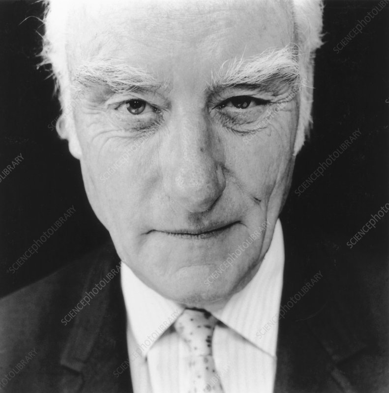 Francis Crick in 1993