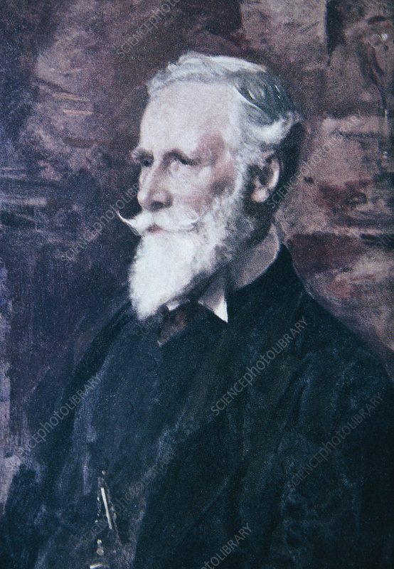 Portrait of Sir William Crookes, 1832-1919