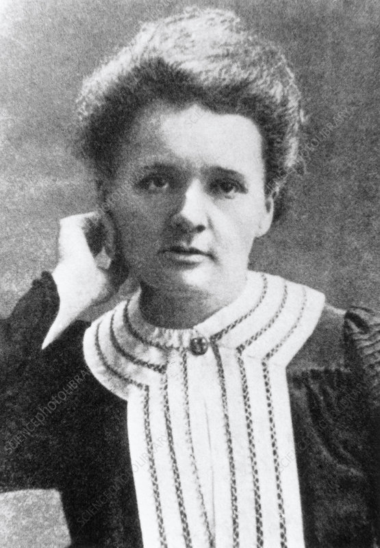 Marie Curie (1867-1934) as a young woman