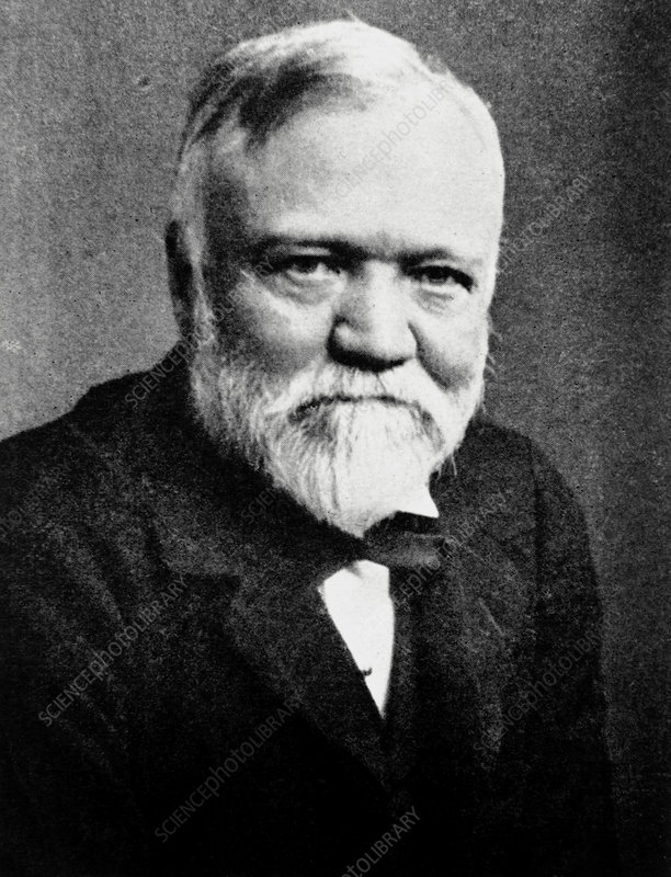 Andrew Carnegie, Scottish-American industrialist