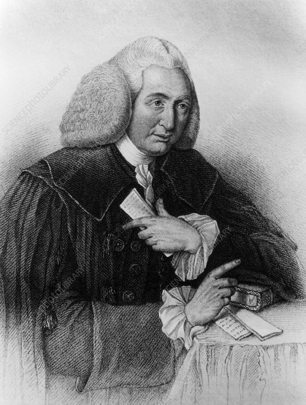 Engraving of William Cullen, Scottish physician