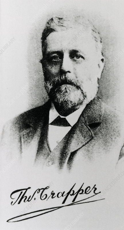 Thomas Crapper, British water closet inventor