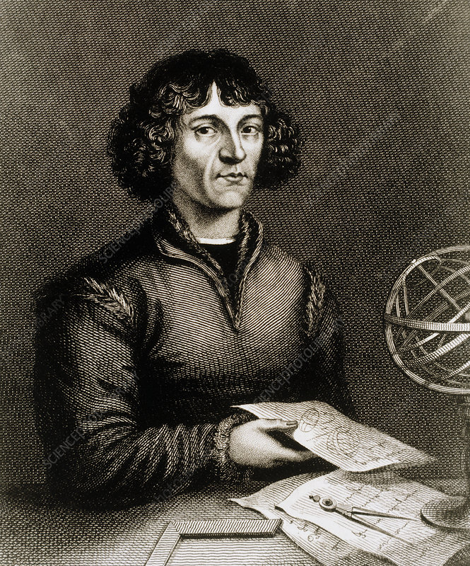 Nicolaus Copernicus, Polish astronomer - Stock Image