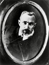 French physicist Pierre Curie (1859-1906)