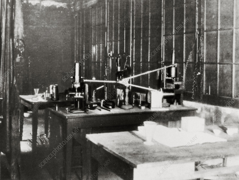 Laboratory of Pierre and Marie Curie, 1898