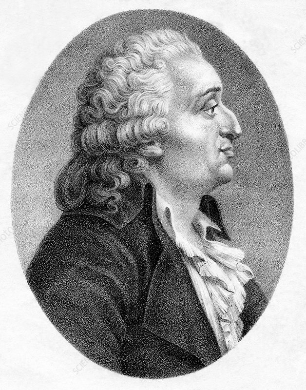 Marquis de Condorcet, French politician