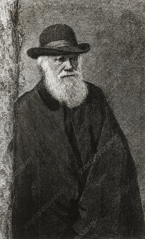 Charles Darwin, English naturalist, 1809-1882