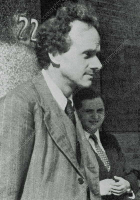 Portrait of Paul Dirac - Stock Image - H404/0049 - Science Photo Library