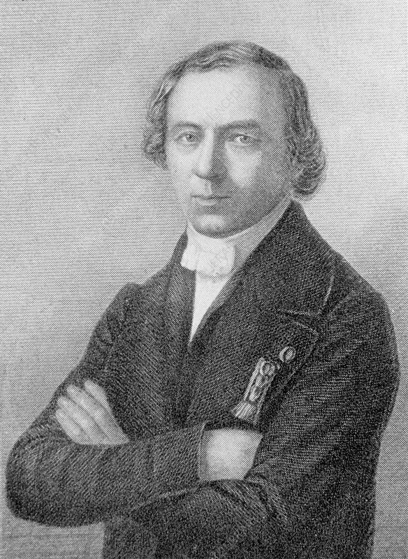 Engraving of Jean Dumas